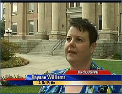 Raynae Williams, Assistant Executive Director of South Georgia Pride