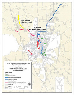 $12M to widen US 41 N is more than $75M for a bus system