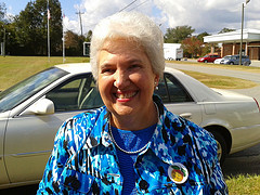 Sara Crow voted at Pine Grove (Clerk of Court, Lowndes County)