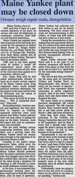 Page 2A Bangor Daily News 28 May 1997