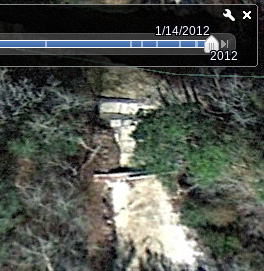 Seen by google earth 2012-01-24
